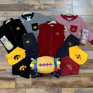 Iowa & Iowa State 18 Month Outfits