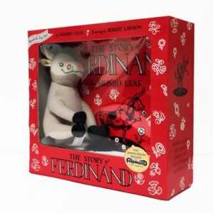 Story of Ferdinand, book and toy set