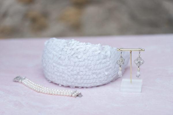 Genuine Austrian Crystal Chandelier Bridal Earrings