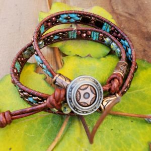 Ladder wrap bracelet