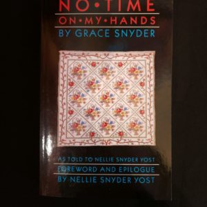 No Time On My Hands Quilting Book