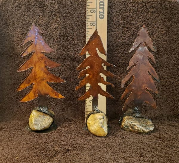 Rustic Metal Tree