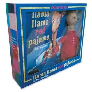 Llama Lama Red Pajama, book and toy