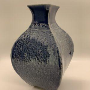 Hand-made square vase