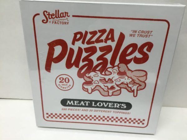 Pizza Puzzle, Meat Lovers