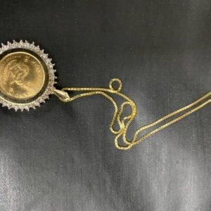 10 ounce gold Kugeran necklace