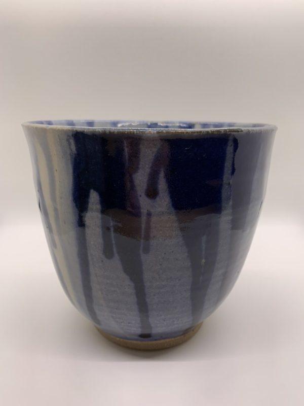 Light and Dark Blue Vase – Roger Bergen