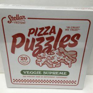 Pizza Puzzle, Veggie Supreme