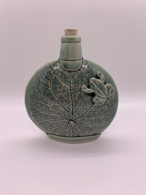 Frog Flask – Karen Moorehead