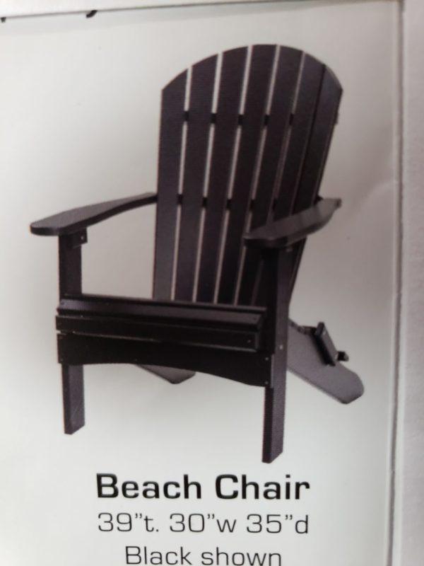 Beach Chair PolyCraft Furniture