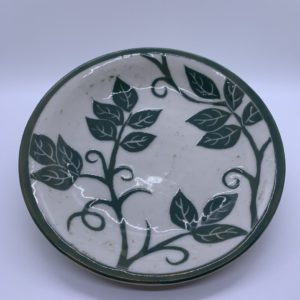 Ceramic hand painted dish