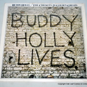 Buddy Holly Live Vinyl LP Record on Shop Iowa