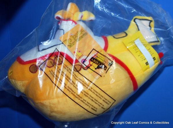 New Beatles Yellow Submarine Plush factory entertainment