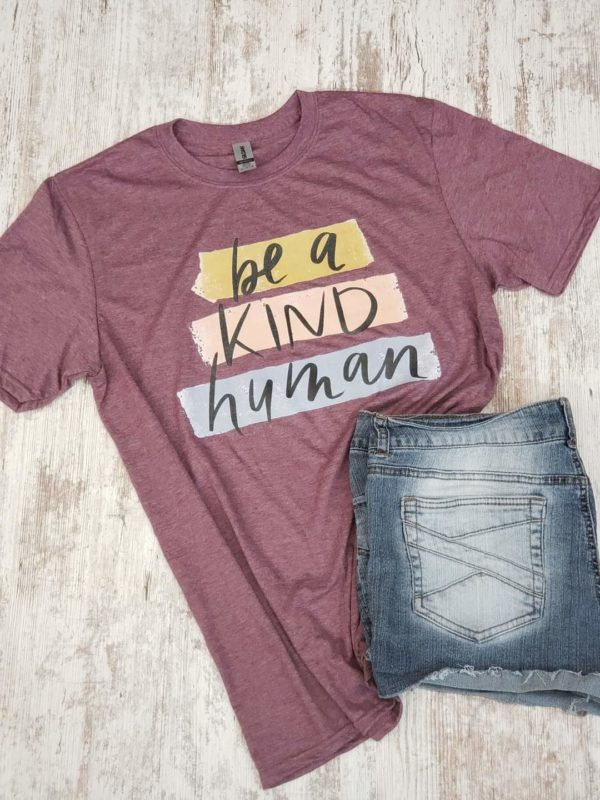 Be a Kind Human Gildan Softstyle T-Shirt