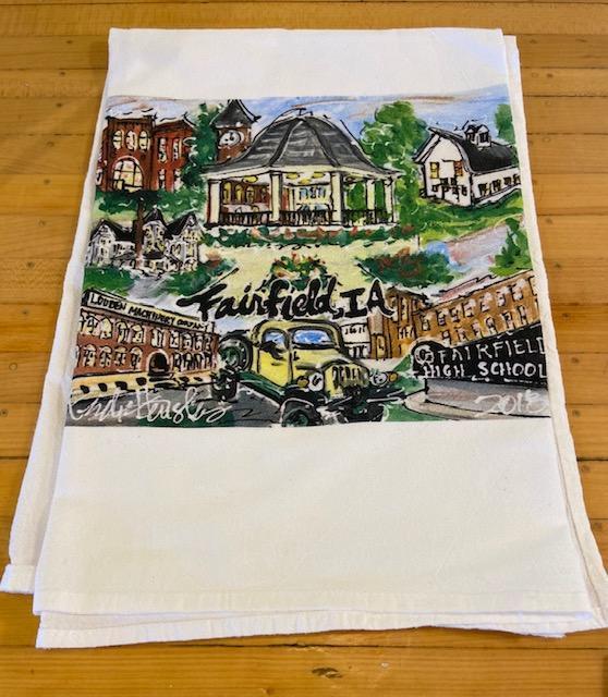 Fairfield Landmark Tee Towel