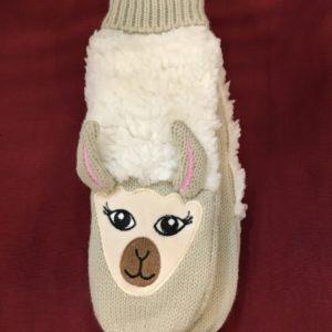 Llama Mittens