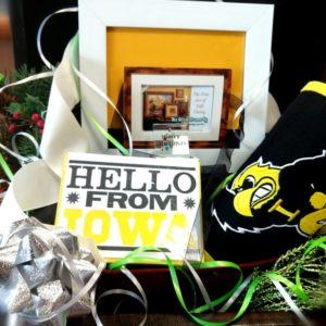 Iowa Hawkeyes Gift Basket
