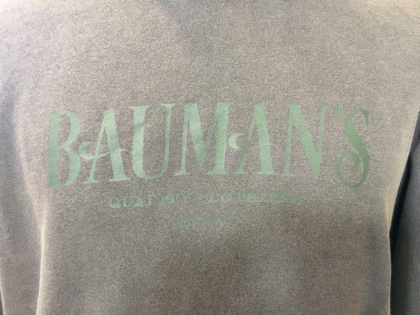 Bauman's Hooded Sweatshirt