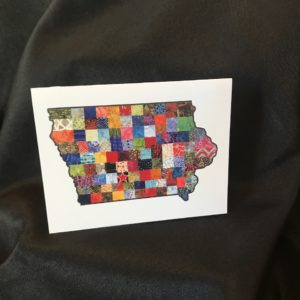Quilted Iowa Note Cards