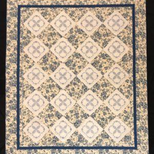 Blue Beauty Quilt – Vintage Blocks