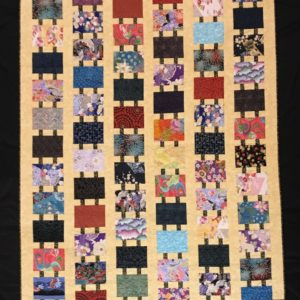 Oriental Ladders Contemporary Quilt