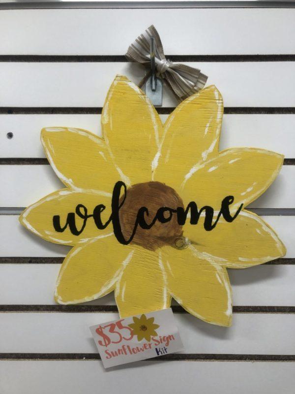 Sunflower Sign Kit