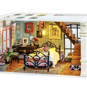 Miniature DIY Dollhouse Paris Midnight