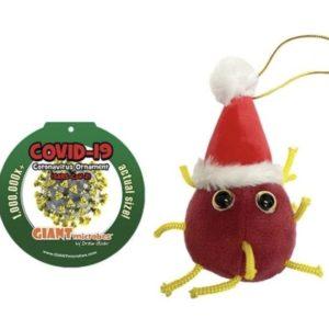 2020 Covid-19 Germ Christmas Ornament