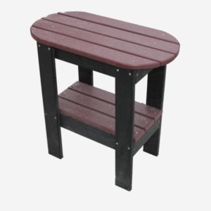 End Table Oval PolyCraft Furniture