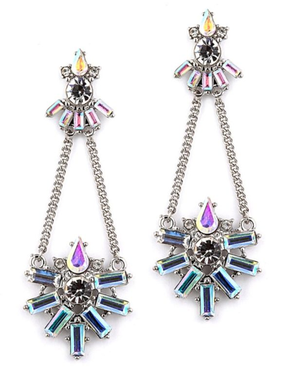 art deco earrings -mco