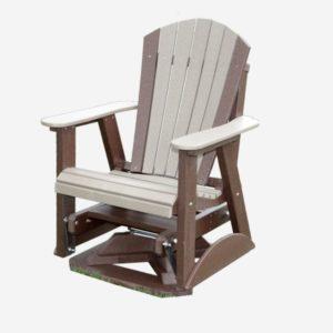 2′ Swivel Glider Poly Craft Furniture
