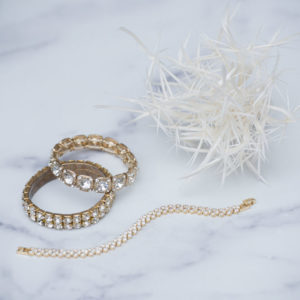Trio of Gold Bracelets