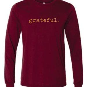 Grateful Long Sleeve Tee Shirt
