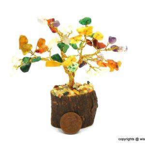 Chakra Stones Bonsai Crystal Tree on Shop Iowa