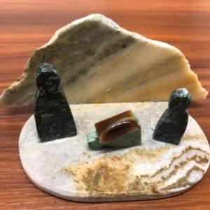 Stone Nativity Mountain by Bob Watkins