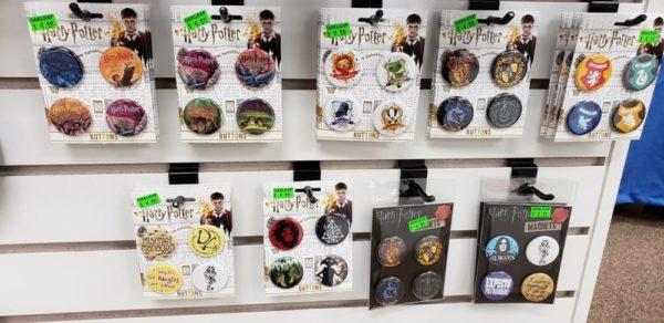Harry Potter Hogwarts Alumni 20 oz Acrylic Water Bottle Screw Off Lid & Glitter!