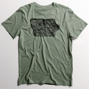 Iowa Tree Ring T-Shirt