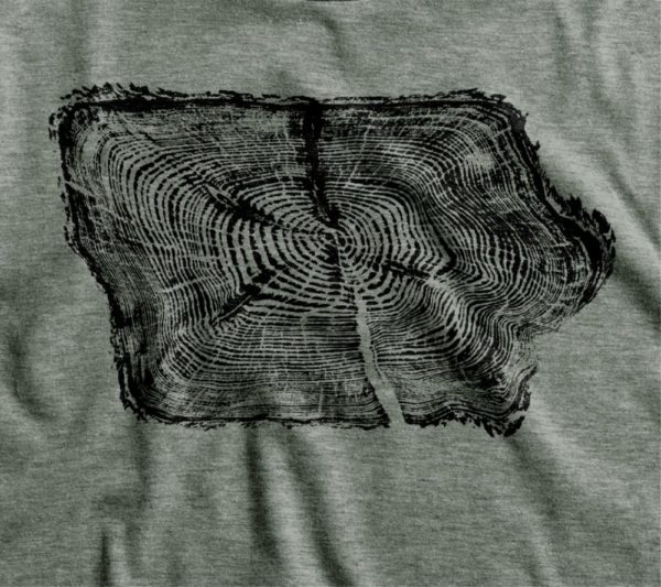 Iowa Tree Ring T-Shirt