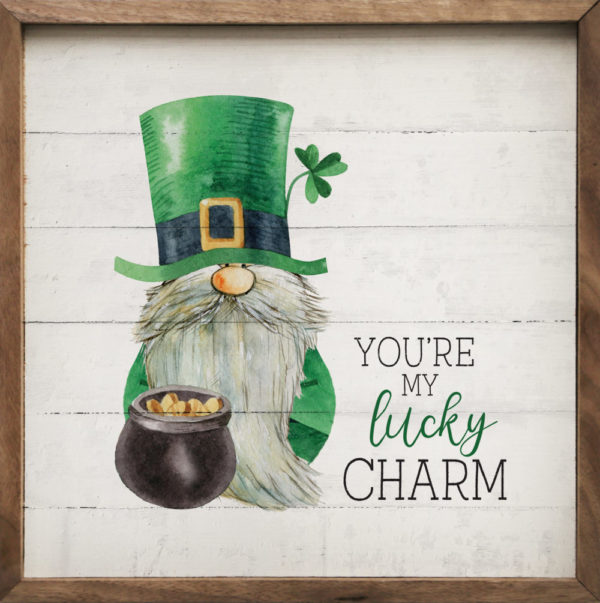 photo of You're My Lucky Charm - Kendrick Home Wood Sign, Shop Iowa
