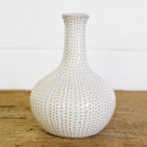 6″ Sand Dot Vase