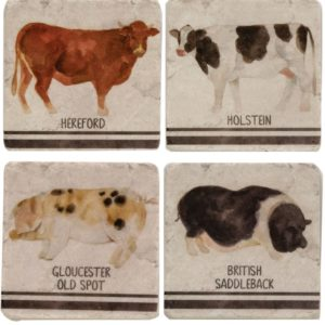 Farm Animal Coaster