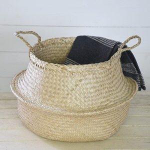 Bulge Seagrass Basket