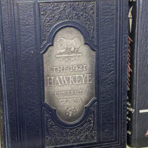 1927 University of Iowa Hawkeye Yearbook