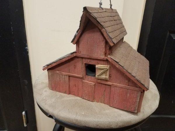 3 Roof Barn Bird House