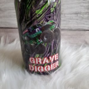 Kids Grave Digger Insulated Tumbler