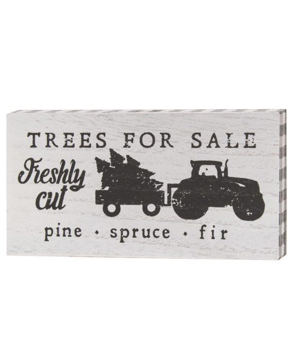 Farm Fresh Tree Sign