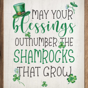 photo of May your Blessings - Irish Kendrick Home Wood Sign, Shop Iowa