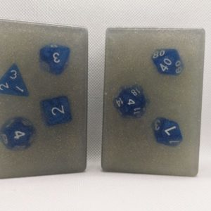 Tomesoaps – Full polyhedral dice set inside