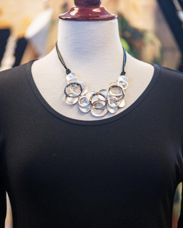 Circles & Bubbles Necklace