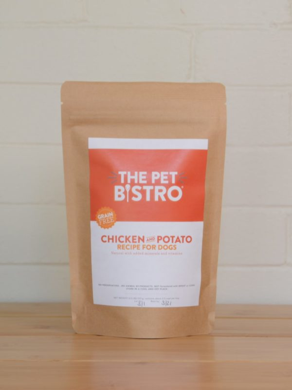 Chicken and Potato Dog Food